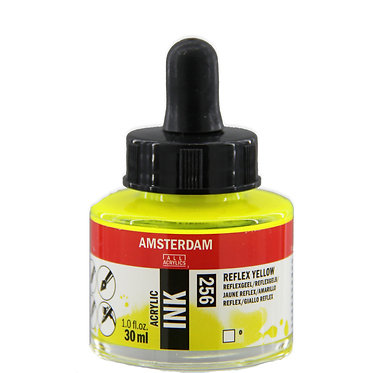 Encre Acrylique Amsterdam Jaune reflex 256