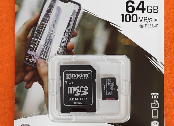 Cartão memória 64Gb