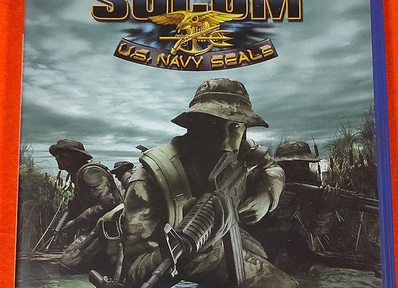 Jogo PS2 SOCOM U.S NAVY SEALS