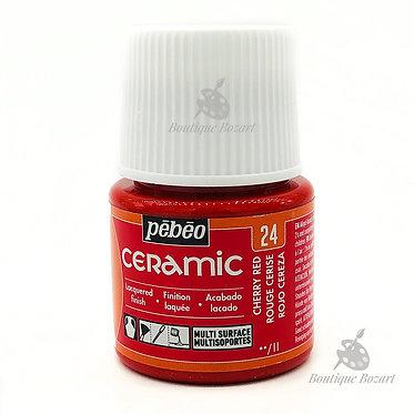 Ceramic Froid Pébéo 45ml Rouge Cerise