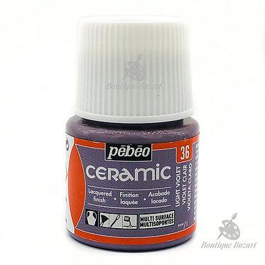 Ceramic Froid Pébéo 45ml Violet Clair