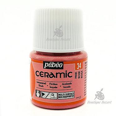Ceramic Froid Pébéo 45ml Rose