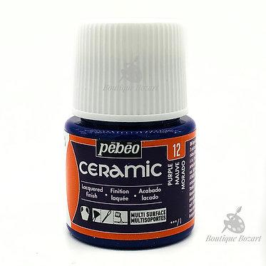 Ceramic Froid Pébéo 45ml Mauve