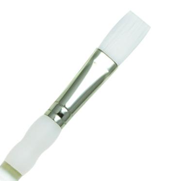 Pinceaux Soft Grip Soie Plat long SG4090