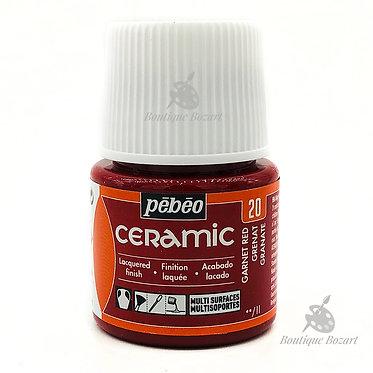 Ceramic Froid Pébéo 45ml Grenat