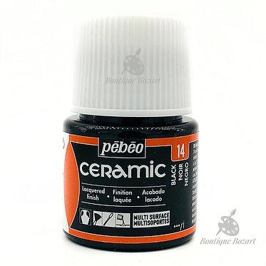 Ceramic Froid Pébéo 45ml Noir