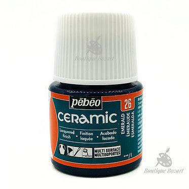 Ceramic Froid Pébéo 45ml Émeraude