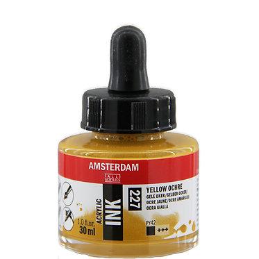 Encre Acrylique Amsterdam Jaune Ocre 227
