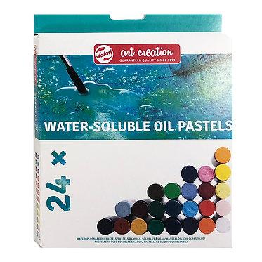 24 Pastels à l'huile diluables à l'eau
