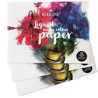 Bloc de papier Ecoline 24x32 cm