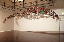 Swarm, Artwork and photo by Pascal Proteau, 2013