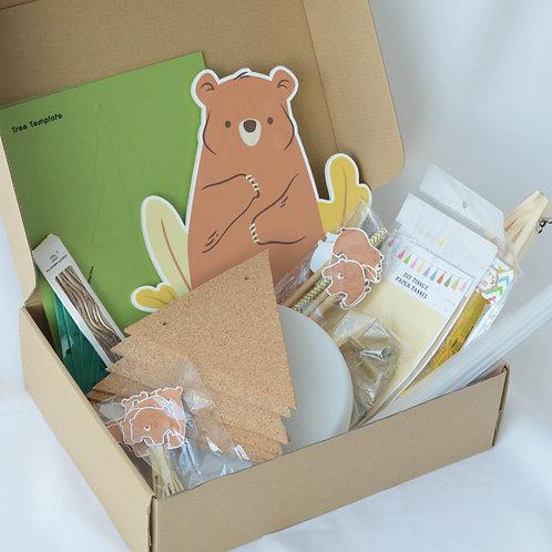 Rustic Bear DIY Party Kit