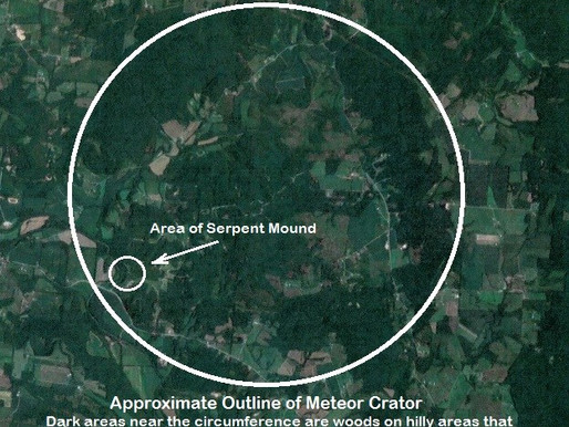 Meteor Crater at Serpent Mound