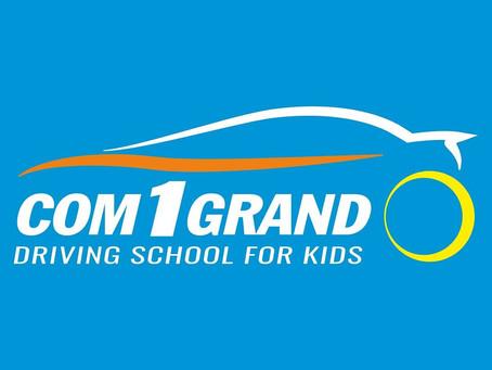Com 1 Grand la première école de conduite pour enfants