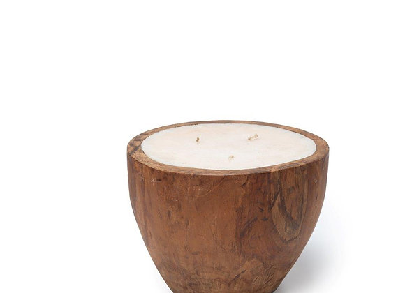 Candle In Pot