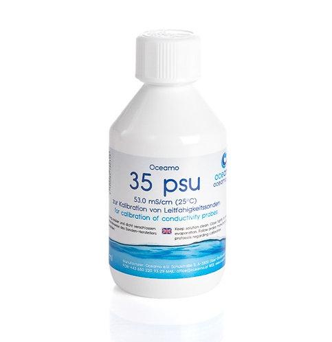35.0 psu Salinitätsreferenz für Leitfähigkeitssonden, 250 ml