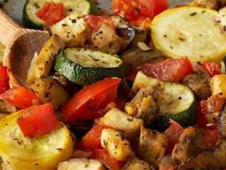 Meatless Mondays - Ratatouille Grill Bags