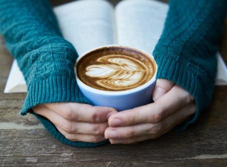 Livros e cafés!