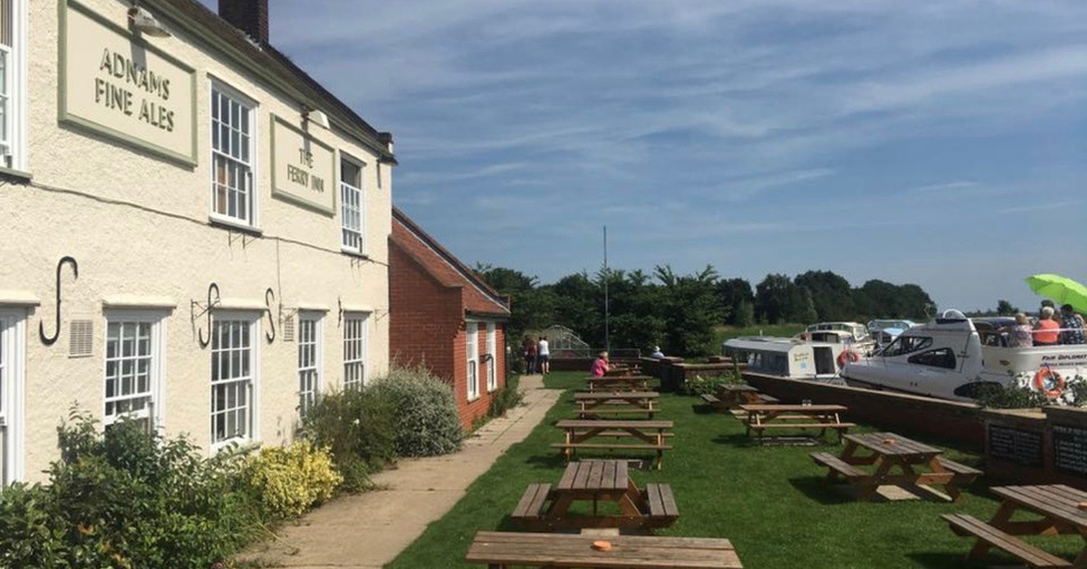 The Ferry Inn Beer Garden