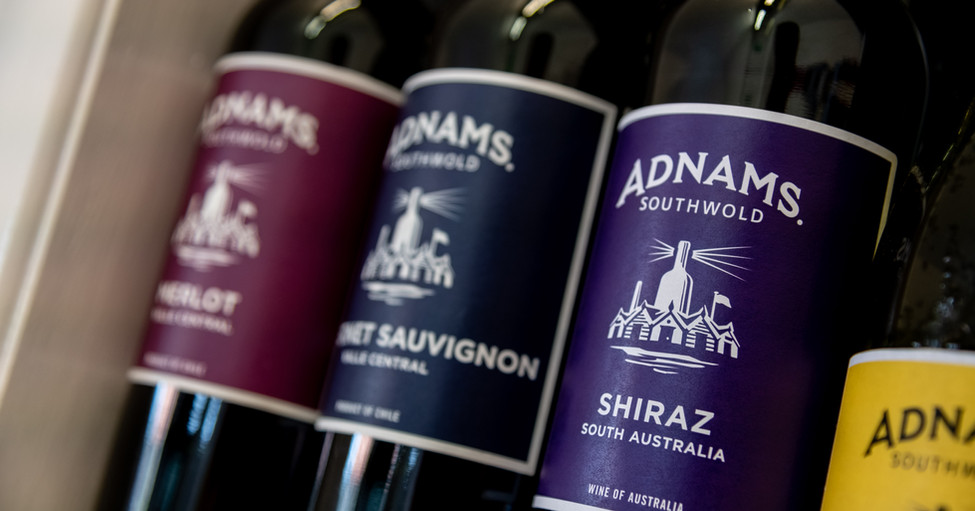 Adnams Wine Selection