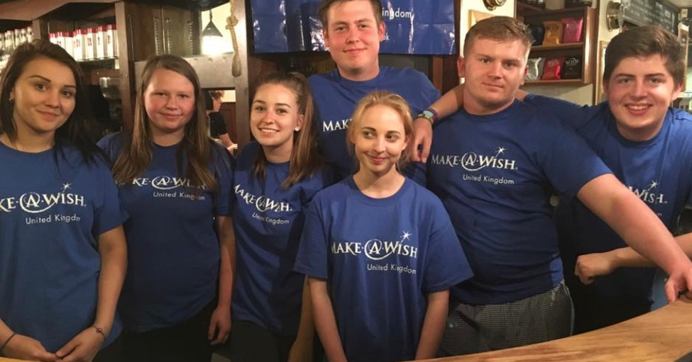 Supporting 'Make a Wish'