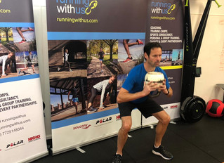 Keeping the Saucony UK team strong!