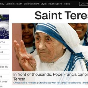 CNN's hit piece on Saint Teresa