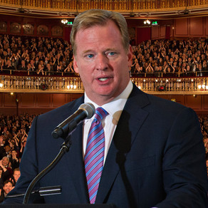 Roger Goodell: Humanitarian of the Year (Sarcasm)