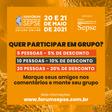XVII Fórum Internacional de SEPSE - Descontos para grupos