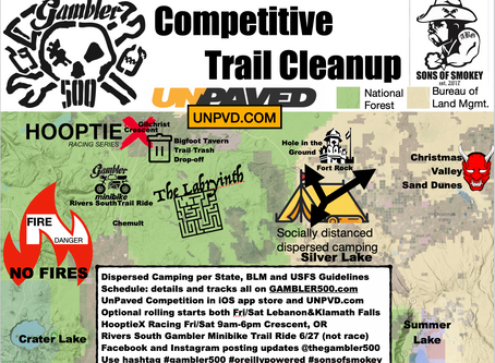 2020 Gambler 500: Competitive Trail Cleanup