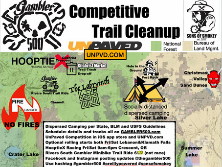 2021 Gambler 500: Competitive Trail Cleanup