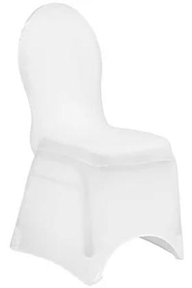White Spandex Banquet Chair Cover