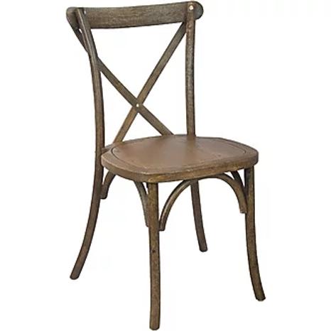 Cross-Back Farm Chair