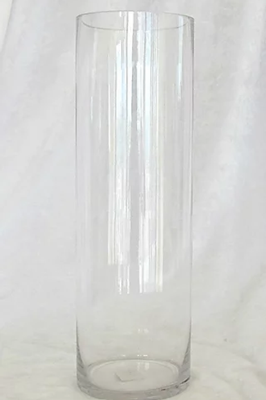 "5""x 16""Glass Cylinder Centerpiece"