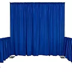 Convention Booths Black or Blue