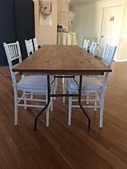 Folding Farm Table