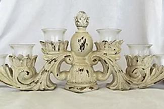 Ivory Vintage Candelabra