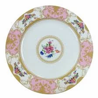 Pink Marie Salad Plate