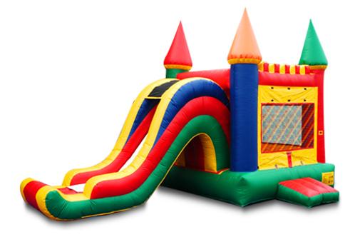 Arch Slide Bounce Castle