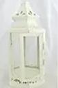Short White Peaked Lantern