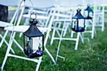 Short Black Peaked Lantern