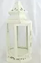 Short White Peaked Lantern