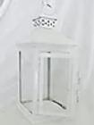 Large White Peaked Lantern
