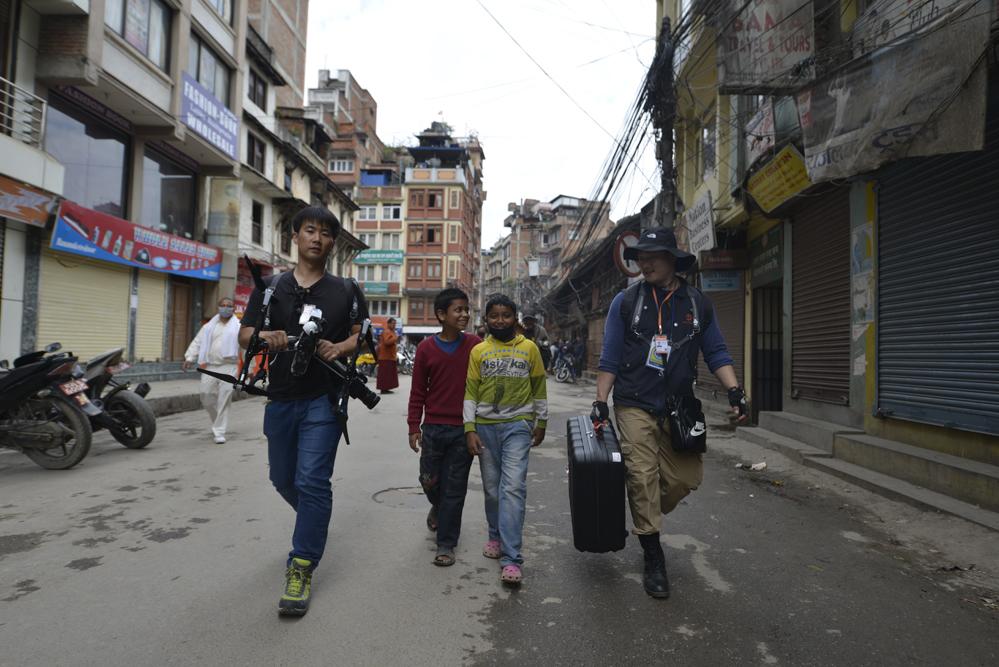 드론프레스, 네팔 현지 유네스코 문화유산 피해현장을 기록하다 (11) - 드론프레스 제공