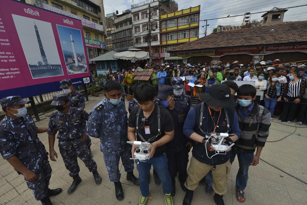 드론프레스, 네팔 현지 유네스코 문화유산 피해현장을 기록하다 (7) - 드론프레스 제공