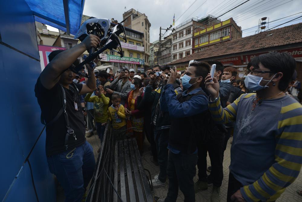 드론프레스, 네팔 현지 유네스코 문화유산 피해현장을 기록하다 (10) - 드론프레스 제공