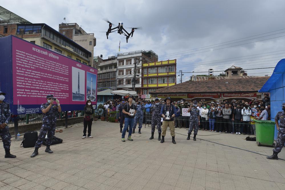 드론프레스, 네팔 현지 유네스코 문화유산 피해현장을 기록하다 (5) - 드론프레스 제공