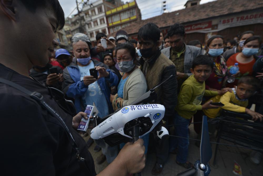 드론프레스, 네팔 현지 유네스코 문화유산 피해현장을 기록하다 (9) - 드론프레스 제공