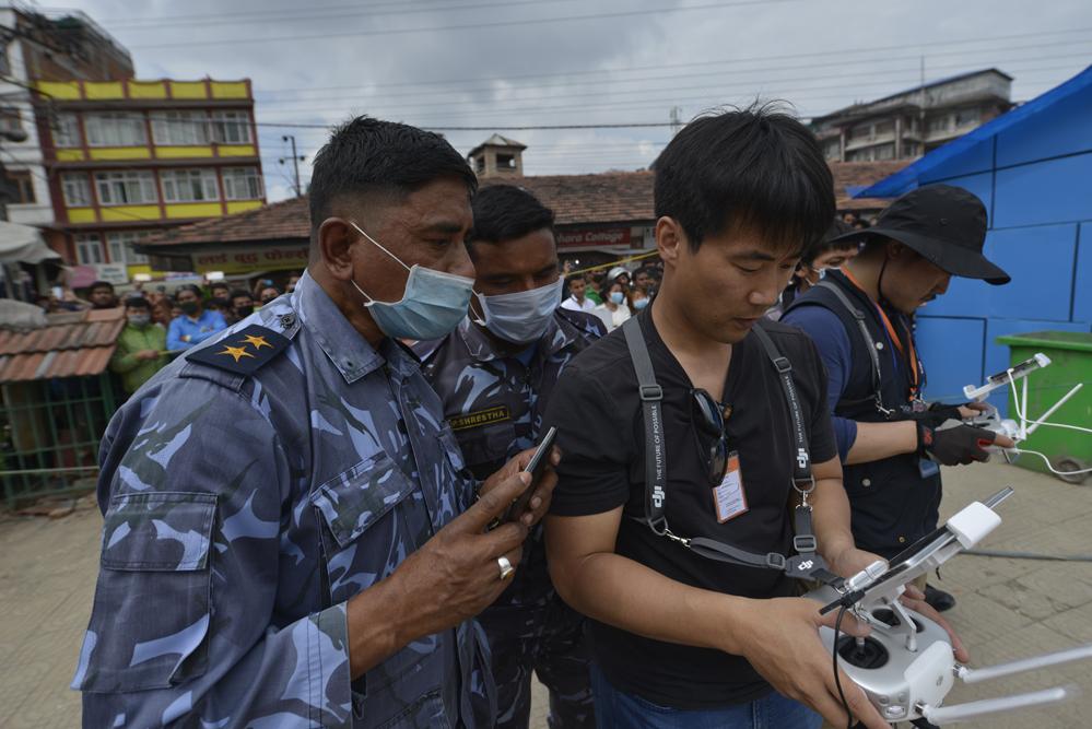 드론프레스, 네팔 현지 유네스코 문화유산 피해현장을 기록하다 (6) - 드론프레스 제공