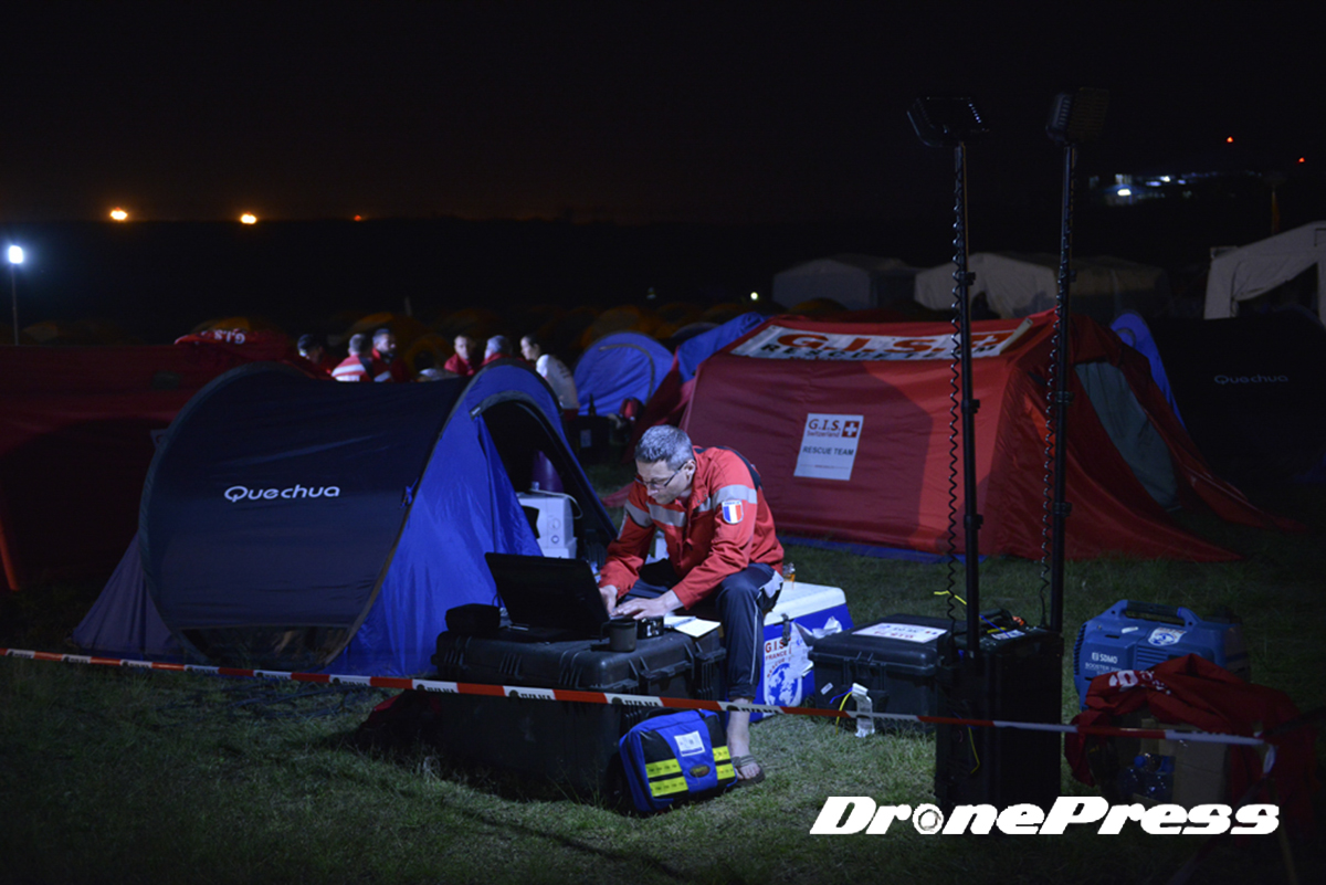 네팔 지진 전세계 수색구조팀 베이스 캠프 24시 (17) - 드론프레스 제공